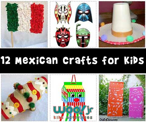 Kids Mexican Crafts on Cultural Masks From Around The World