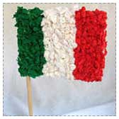 Mexican Flag Kids Craft