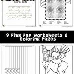 Flag Day Worksheets & Coloring Pages