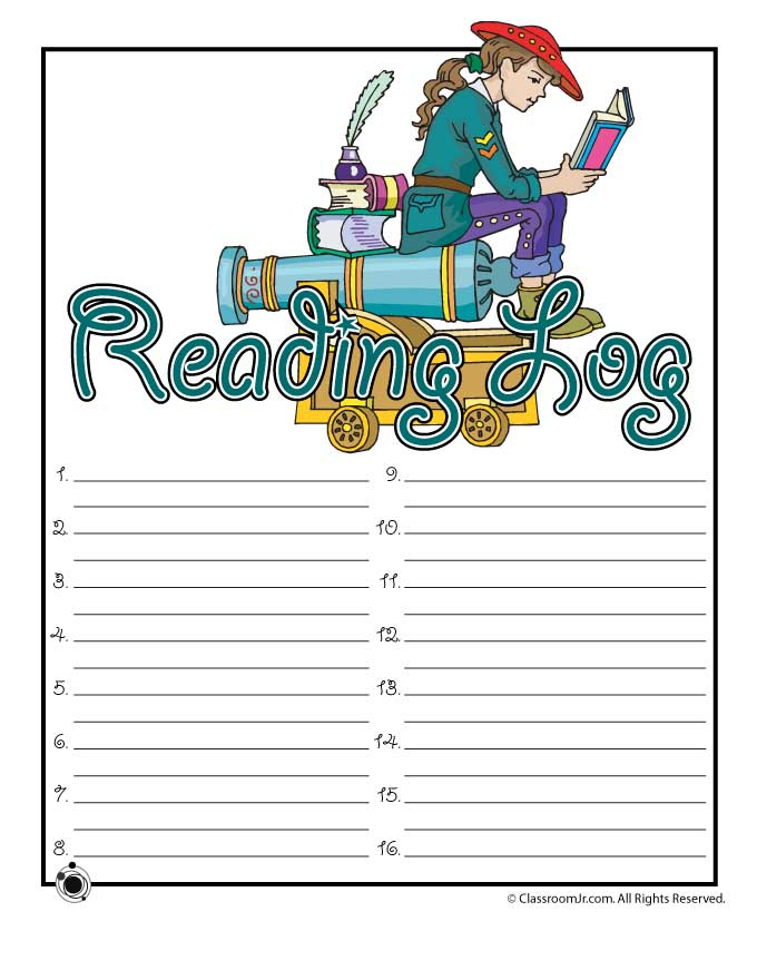monthly reading logs for home parent letter journal free printable kindergarten reading logs printable 884