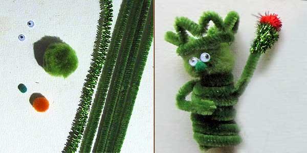 Statue of Liberty Finger Puppet