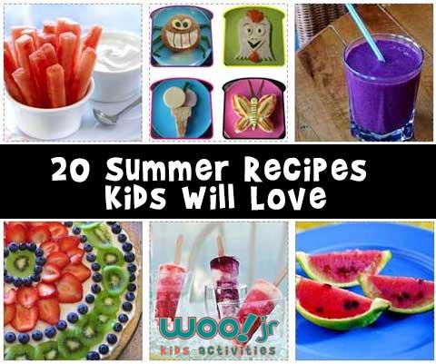 20 Summer Recipes Kids Will Love