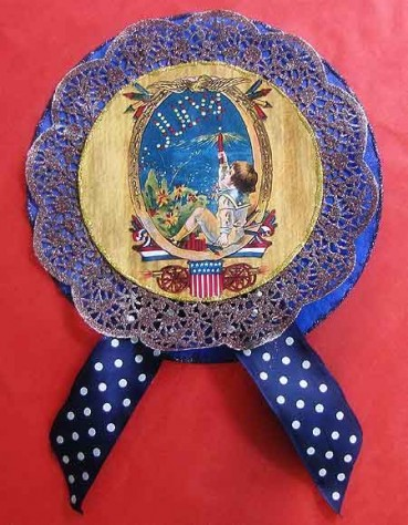 Vintage Paper Crafts: 4th of July Rosettes