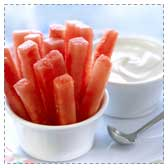 Watermelon Dippers & Dip