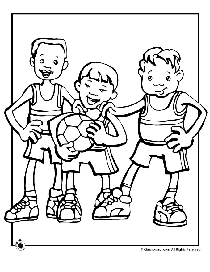 Cute world cup hopefuls woo jr kids activities for World cup coloring pages