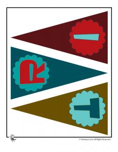 Printable Birthday Banner Page 3