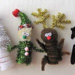 Christmas Kids Crafts: Easy Finger Puppets