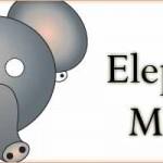 Printable Animal Masks: Elephant Mask