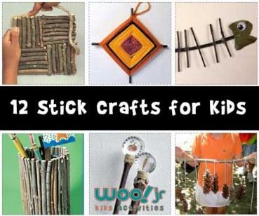 Stick Crafts for Kids