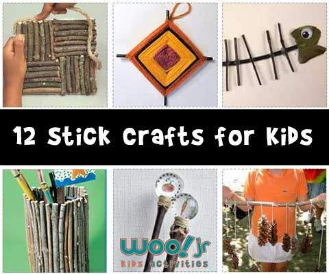 12 Stick Crafts for Kids