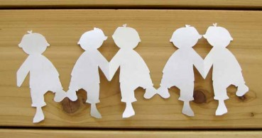 Paper Chain People Templates