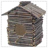 Twig Birdhouse Project