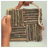 Twig Trivet Craft