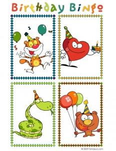 Birthday Bingo Set 3