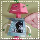 Cricut Robot Papercraft