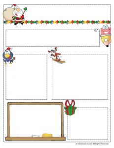 dec teacher newsletter 231x300 Teacher Newsletter Templates