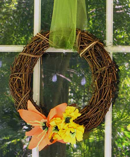 Fall Wreath Craft
