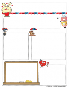 February Teacher Newsletter Template