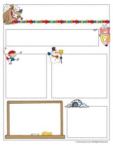 jan teacher newsletter 231x300 Teacher Newsletter Templates