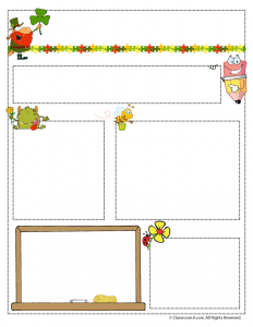 March Teacher Newsletter Template