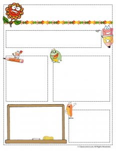 May Teacher Newsletter Template