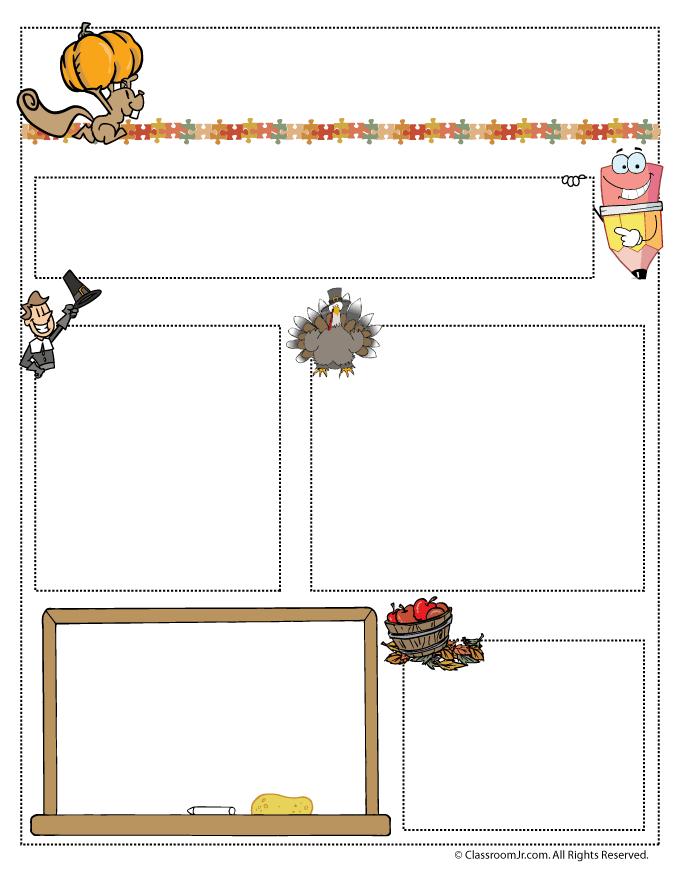 nov-teacher-newsletter November Teacher Newsletter Template on owl theme, for first grade, free preschool,