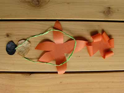 Paper Tiger Lily Flower Parts