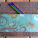 Easy No Sew Pencil Case Tutorial