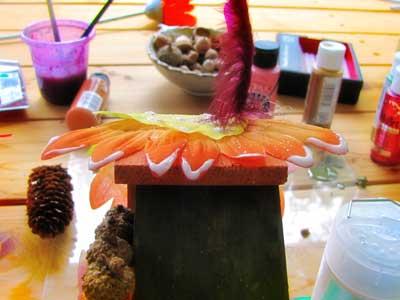 Adding Fairy Dust to the Fairy House