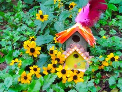 Finished Fairy House Craft