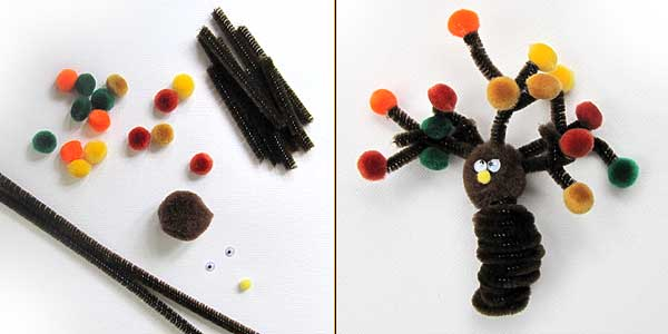 Autumn Tree Finger Puppet Craft