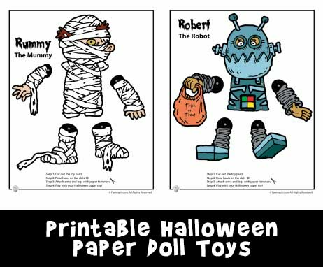 halloween-paper-toys