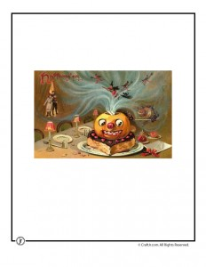 Beautiful Vintage Jack-o-Lantern Postcard