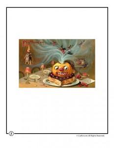 Beautiful Vintage Jack-o-Lantern Postcard