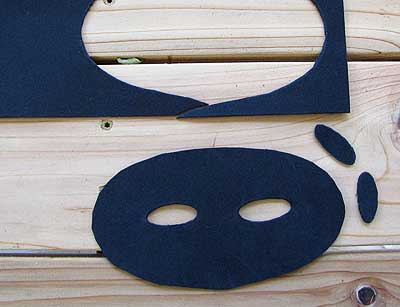Cut Out Eye Mask Template