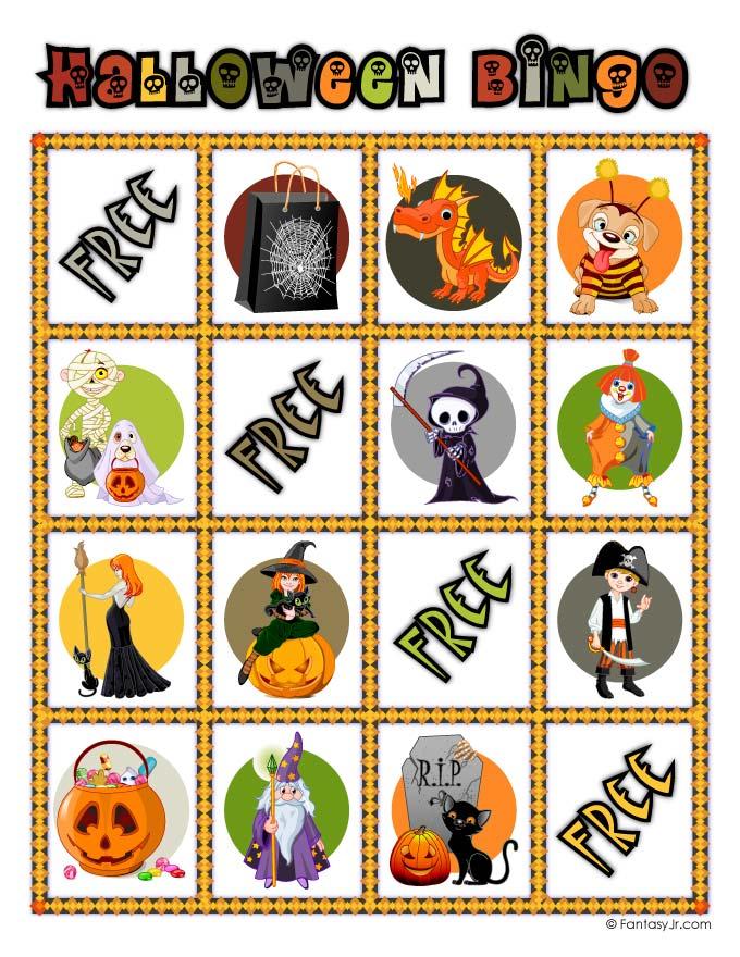halloween bingo card 9 woo jr kids activities