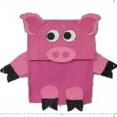 Paper Bag Pigs