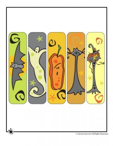 Halloween Bookmarks - Cute