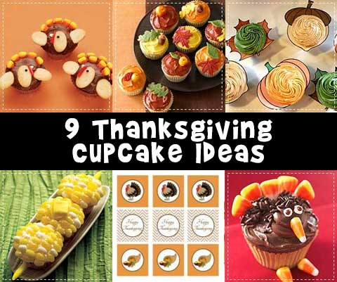 9 Thanksgiving Cupcake Ideas