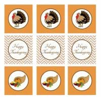 Printable Thanksgiving Table Decorations