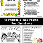 Christmas Poems for Kids