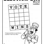 Election Worksheets for Kids