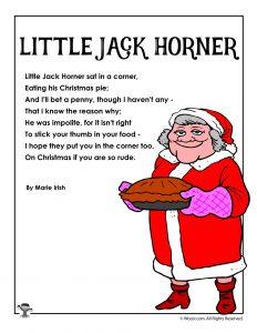 Little Jack Horner Poem