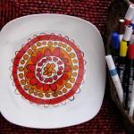 Gifts Kids Can Make: DIY Modern Art Plates