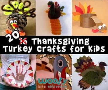 28 Turkey Crafts for Kids