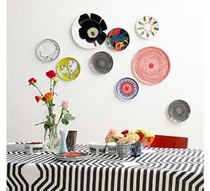 Marimekko Plates Display