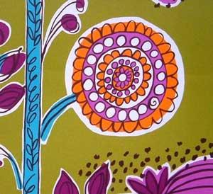 Marimekko Flower Fabric