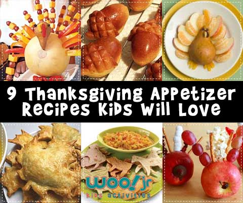 Thanksgiving Appetizer Recipes Kids Will Love