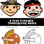 Printable Thanksgiving Masks