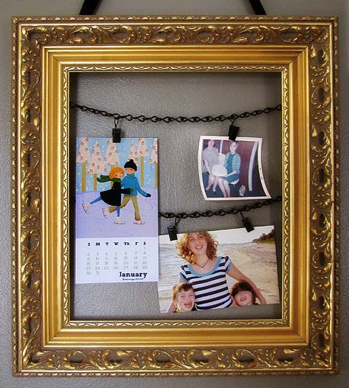 Recycled Photo Frame Holder DIY Project
